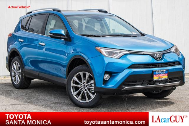 New 2017 Toyota Rav4 Limited Fwd