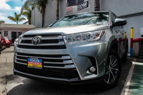 New 2018 Toyota Highlander XLE V6 AWD AWD