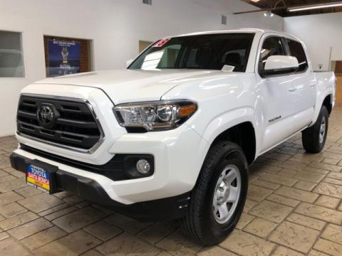 Certified Pre-Owned 2018 Toyota Tacoma SR5 Double Cab 5' Bed I4 4x2 AT