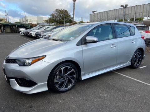 Certified Pre-Owned 2017 Toyota Corolla iM Manual